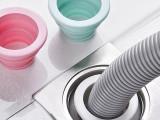 厨卫专用下水管道密封圈 防臭硅胶接头洗衣