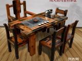 百年古船老船木家具 老船木茶台 老船木茶几 批发定做