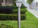 斗笠型不锈钢户外草坪灯 不锈钢花园灯庭院别墅灯 室外欧式灯具