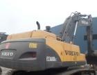 二手沃尔沃240 290挖掘机出售,大型进口挖