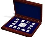 国宝熊猫邮票银砖 是贵金属藏品中的贵中之王