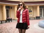 冬季韩版连帽女式棉衣 羽绒棉衣两面穿棉服 韩版冬季小棉袄外套