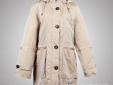 #韩版短款羽绒棉女式棉衣连帽棉服 冬装保暖修身外套服装代加工