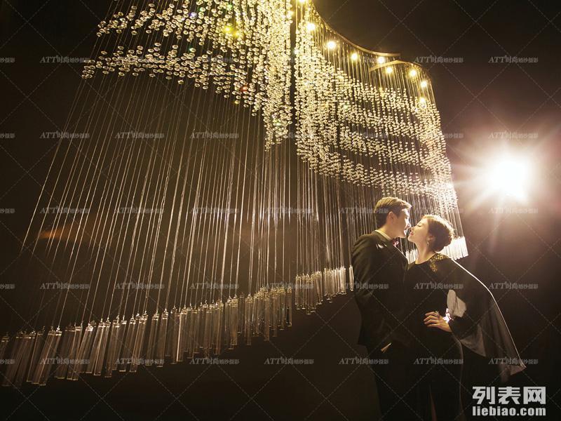 石家庄都市夜景婚纱照拍摄首选ATT时尚
