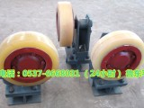 L35矿用滚轮罐耳 聚氨酯滚轮罐耳