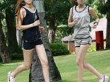 2015夏装纯棉跑步打球瑜伽健身服宽松大码休闲背心短裤运动套装