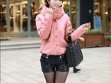 2014加厚外套棉服棉衣女 带帽韩版短款小棉衣  小外套 短款