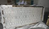 不锈钢镂空立体屏风黑钢花格会所隔断