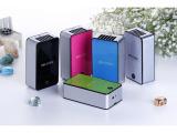 新款迷你iphone空调 掌上空调 可蓄电空调 新款上市 可印l