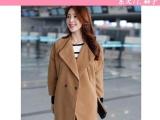 13韩版爆款冬装新款羊绒 毛呢大衣 外套