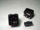卡式带保险丝AC插座