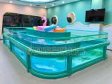 東方時尚正圓環流玻璃游泳池