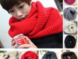 2013韩版秋冬新款 绕两圈围脖套头围巾 多用毛线大围脖批发 C