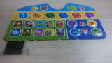 儿童玩具学习机按键触控面板专用PP合成纸