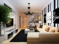 武汉电视背景墙装修效果图 客厅背景墙装修首选华上设计