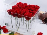 上海玉壁实业亚克力制品加工有机玻璃花盒收纳盒