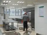 深圳专业厨房油烟机清洗公司 专业清洗学校食堂的烟道