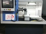 济南施诺依SNY-5卧式全自动轮毂拉丝机 汽车轮毂修复设备