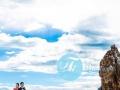 香港峰摄影 西藏拉萨旅拍羊卓雍措羊湖香港人拍西藏婚纱摄影