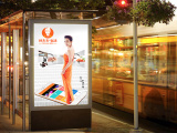 上海嘉定拉布灯箱本地优质制作厂家