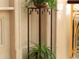 欧式铁艺实木 多层室内阳台客厅 田园花架子 绿萝吊兰花架