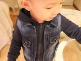 2014年新款卫衣牛仔服 童装 童牛仔服 童装批发 厂家直销