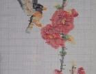 梅兰菊十字绣出售