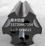 供应石墨接地体 接地模块圆柱形/梅花形优点及范围