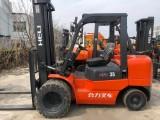 杭州二手5吨叉车,标准门架 便宜转让
