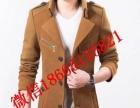 男装2017新款纯羊毛 呢大衣男中长款冬季韩版西装