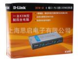 D-LINK(友讯) DKVM-4K 4口塑壳桌面型,PS/2接