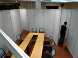 上海会议室临时屏风隔板出租安装