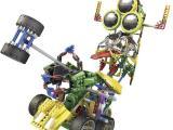 LOZ俐智A1516大眼合体机器人智拼装积木外星人diy玩具益智