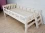 二胎必备小床 全实木 零甲醛 进松木精打磨婴儿床