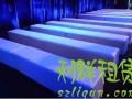 深圳东莞惠州时装走秀专用沙发皮质方凳1.2米条形沙发凳出租赁