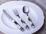 欧式餐具 牛排刀叉两件套装 刀叉勺三件套 面包刀大勺子大叉子