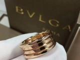 宝格丽素金戒指又出了新花样