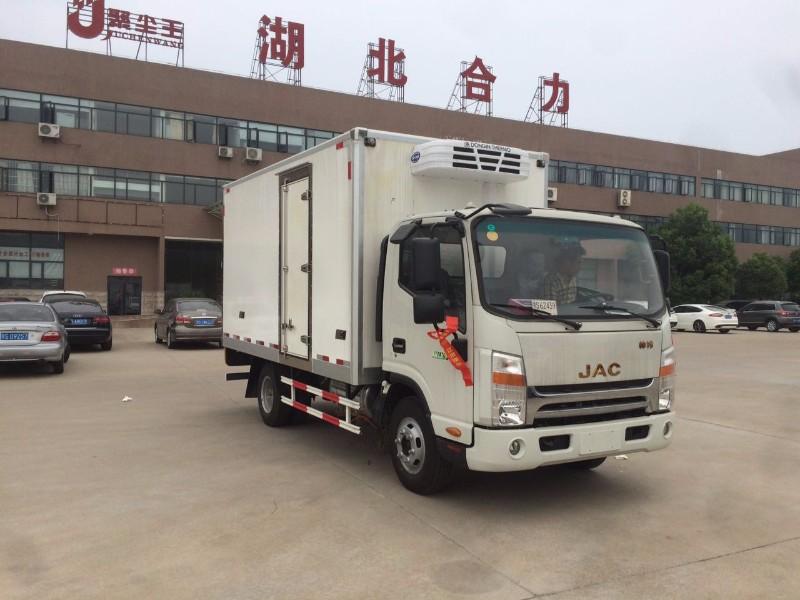 厂家直销江淮帅铃4米2冷藏车