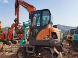 二手挖機市場 輪式挖掘機轉讓
