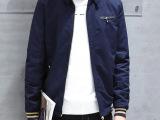 一件代发冬季男士夹克加绒加厚韩版修身外套