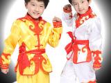 儿童武术服装表演服长袖幼儿武术衣服小孩少儿男童女孩练功服批发