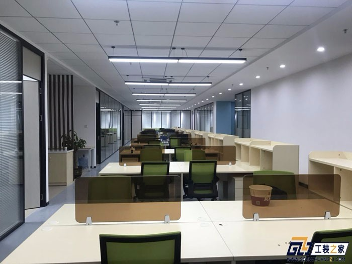 兰州企业办公室装修设计图