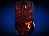 黑爵Q7 熔岩炫光8键游戏鼠标 usb电脑鼠标 lol电竞鼠标
