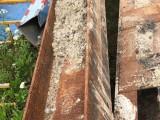 二手H型鋼回收 工字鋼槽鋼回收 上海舊鋼材收購