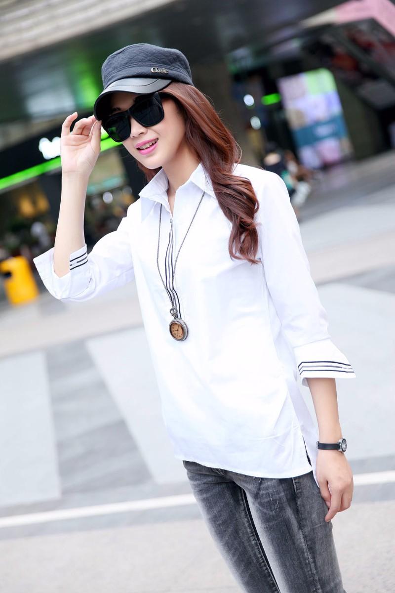 五块钱女装长袖衬衫批发厂家直销一手货源最便宜时尚女装批发网