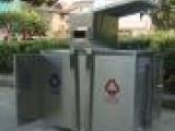 太原垃圾桶 太原户外不锈钢材料垃圾桶