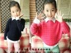 蒙多尼童装品牌工厂尾货韩版女童夹克大衣