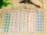iphone5/4水钻壳钻石果冻水晶宝石手机壳5S保护套苹果5代
