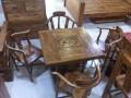 老榆木茶桌,古典茶桌,功夫茶桌,实木茶桌,工厂直营店,