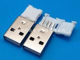 生产直销USB公座连接器 USB公头连接器 供应优质USB公座折
